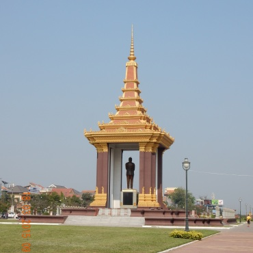 cambodia-phnompenh-statueking